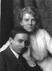 Edgar Payne with his wife Elsie Palmer Payne!