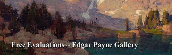 Evaluations of Edgar Payne Paintings